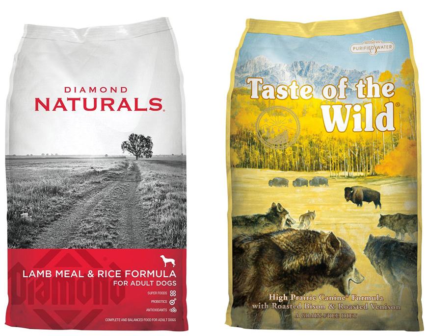 Diamond Naturals Grain Free Vs Taste Of The Wild