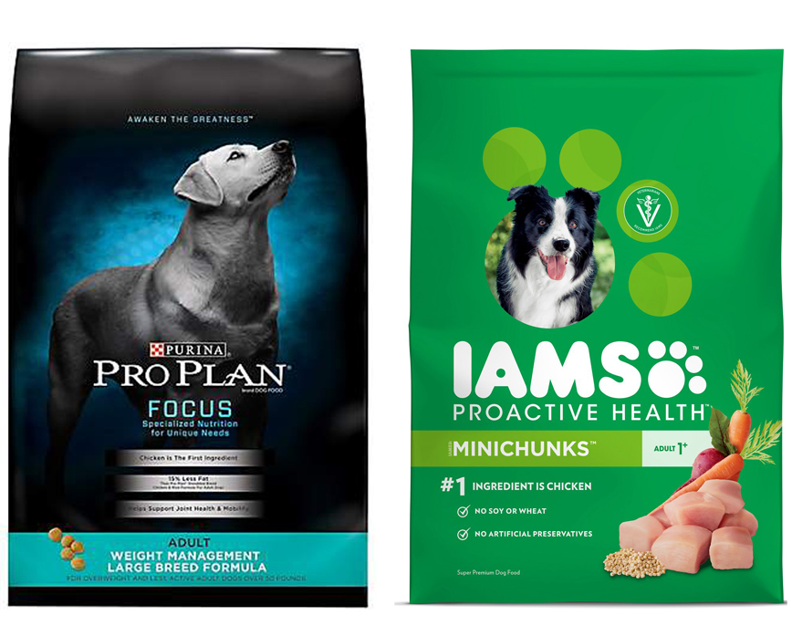 Purina Pro Plan Vs Iams Dog Food Easyboxshot Com